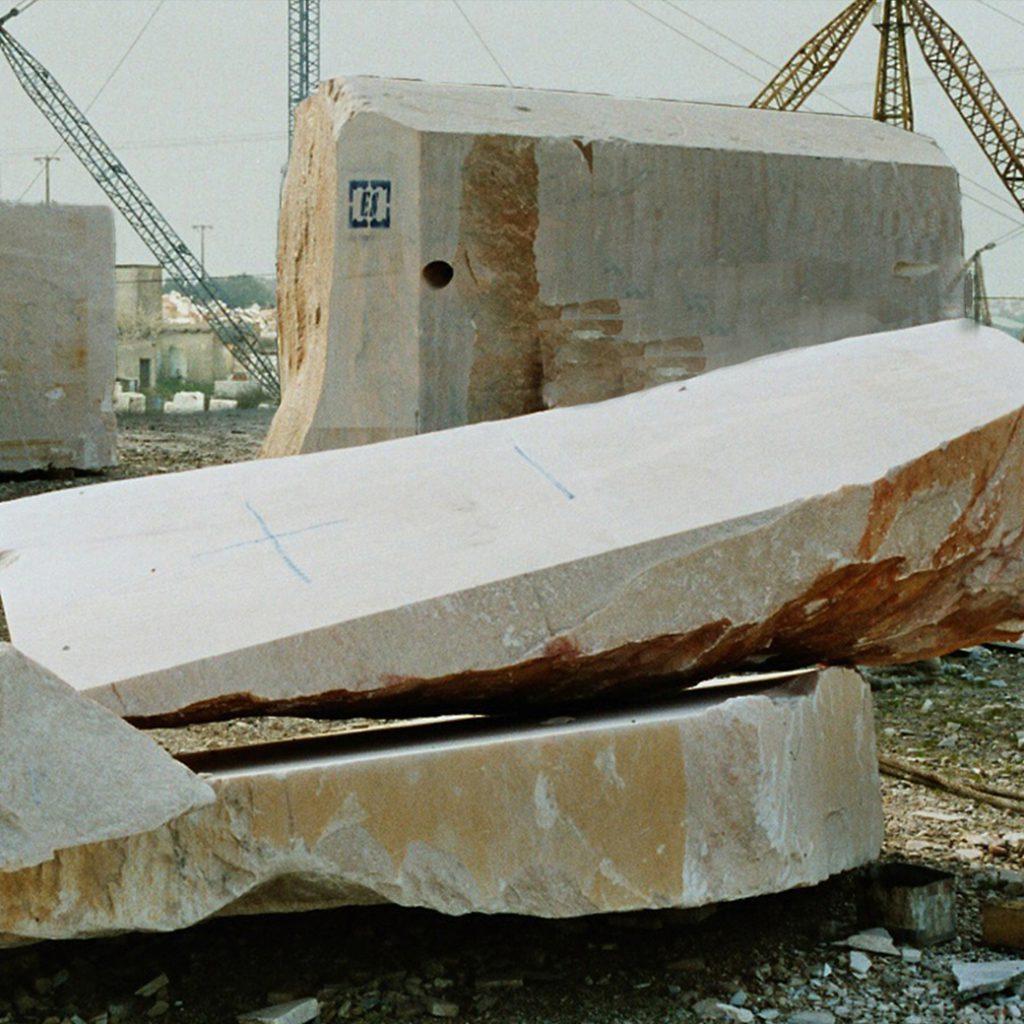 Het grootste blok marmer